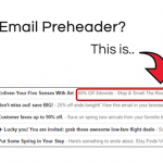Examples of email preheaders