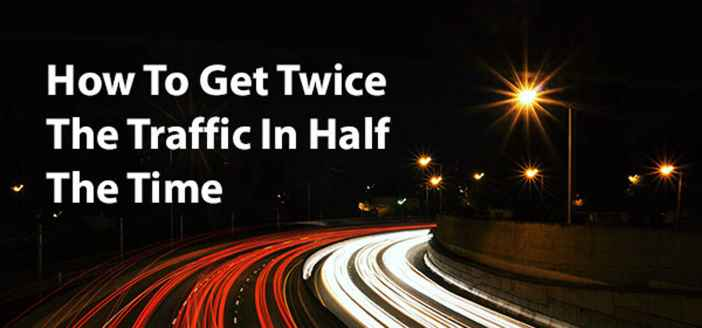Twice the traffic in half the time? How to update old blog posts for better results fast.